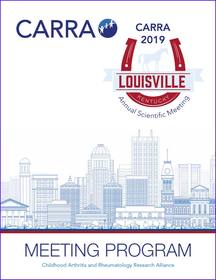 2019 Annual Meeting | CARRA - Childhood Arthritis and